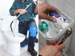 Comment réparer une toilette bloquée